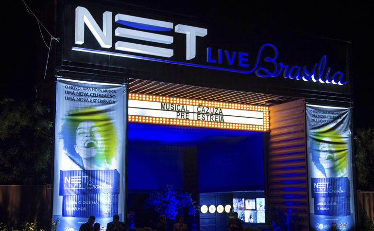 Net Live Brasília - Shows