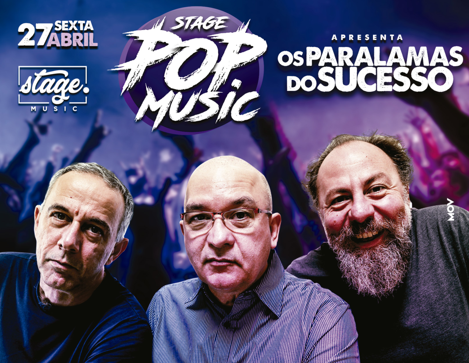 STAGE POP MUSIC | PARALAMAS DO SUCESSO