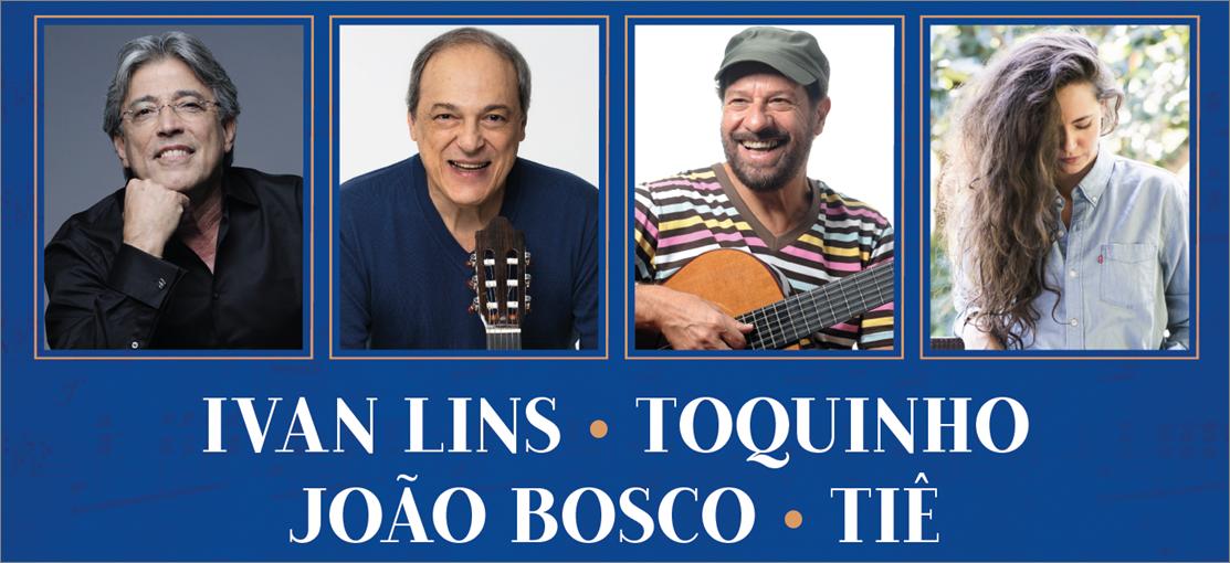 Vozes da MPB   Ivan Lins, Toquinho, João Bosco e Tiê