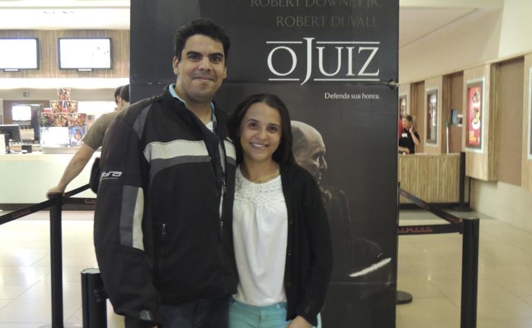 Victor Hugo Ramos Almeida e Laiane Alves