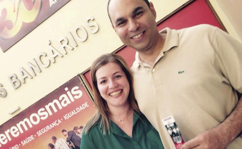 André Luiz A. e Patricia Duarte B