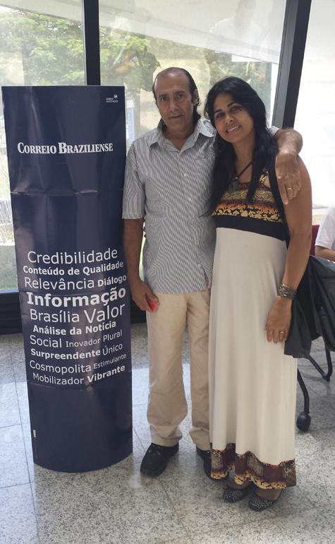 Carlos André C. Roriz e Nilia Pereira