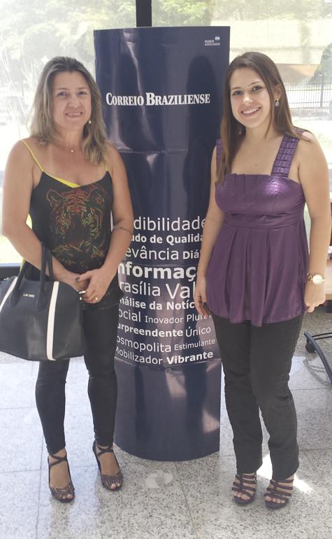 Adolfina e Jéssica Madureira