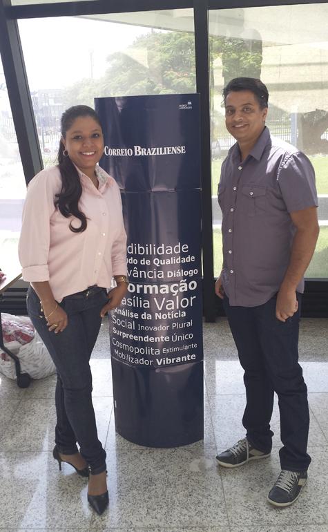 Ana Paula Dias de Oliveira e Maxwell David Baso