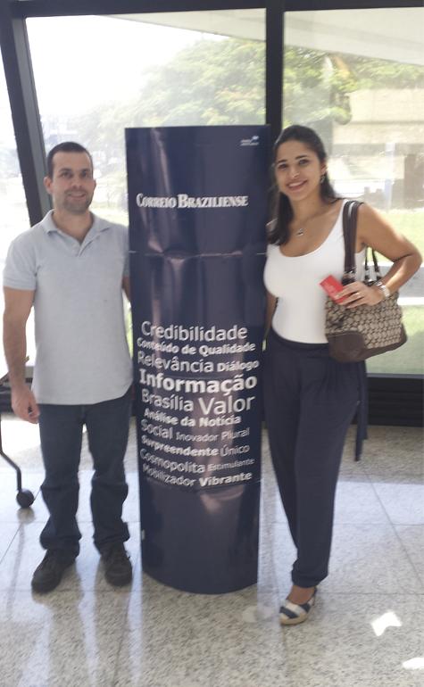 Juliana Bernardo da Silva e Gustavo Zardo
