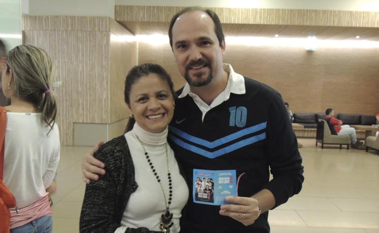 Tereza Gisele e Vicente Paulo