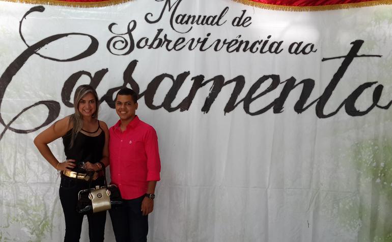 Tais Matos e Leandro Nunes.