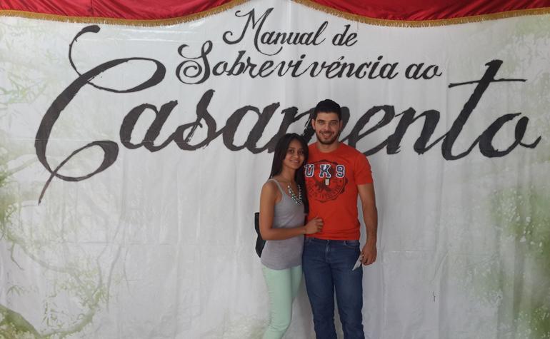 Daniela Almeida e Adriano de Oliveira.