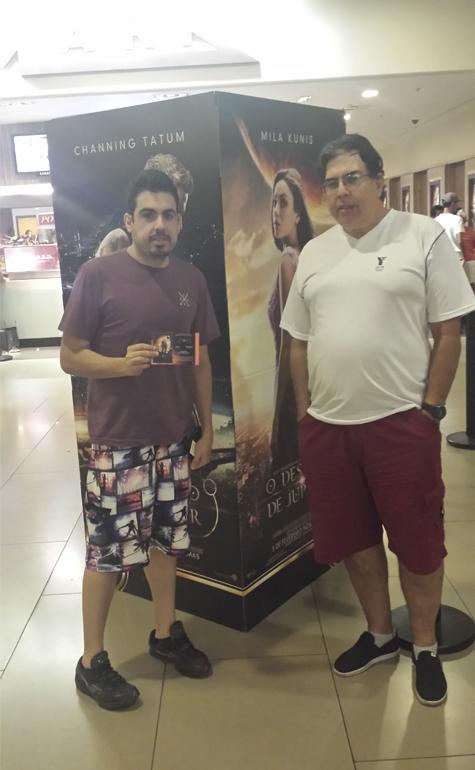 Fabio e Martin Vinhas