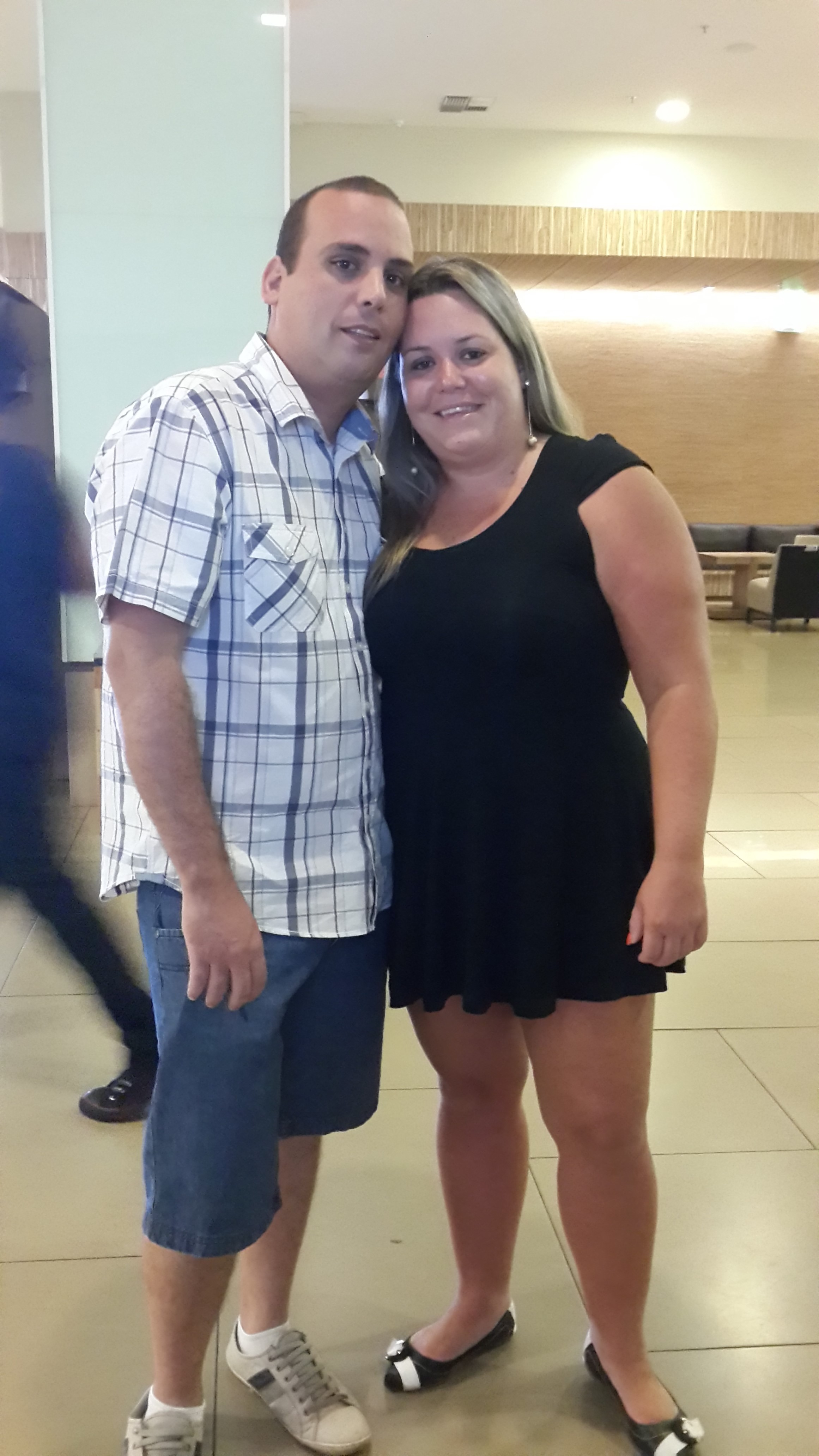 Rodrigo Maciel e Viviane de Almeida
