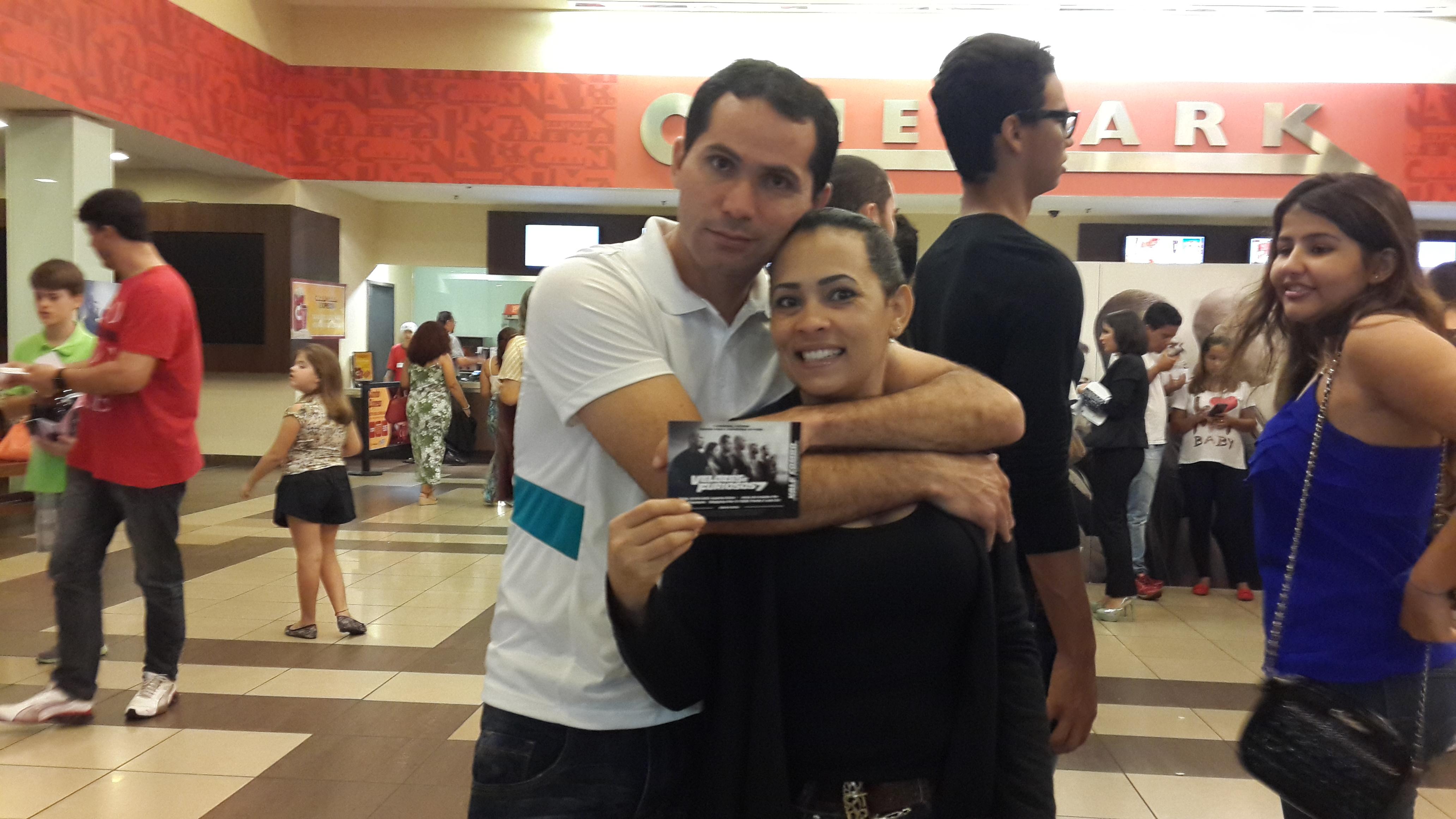 Antônio Oliveira e Claudia Mendes
