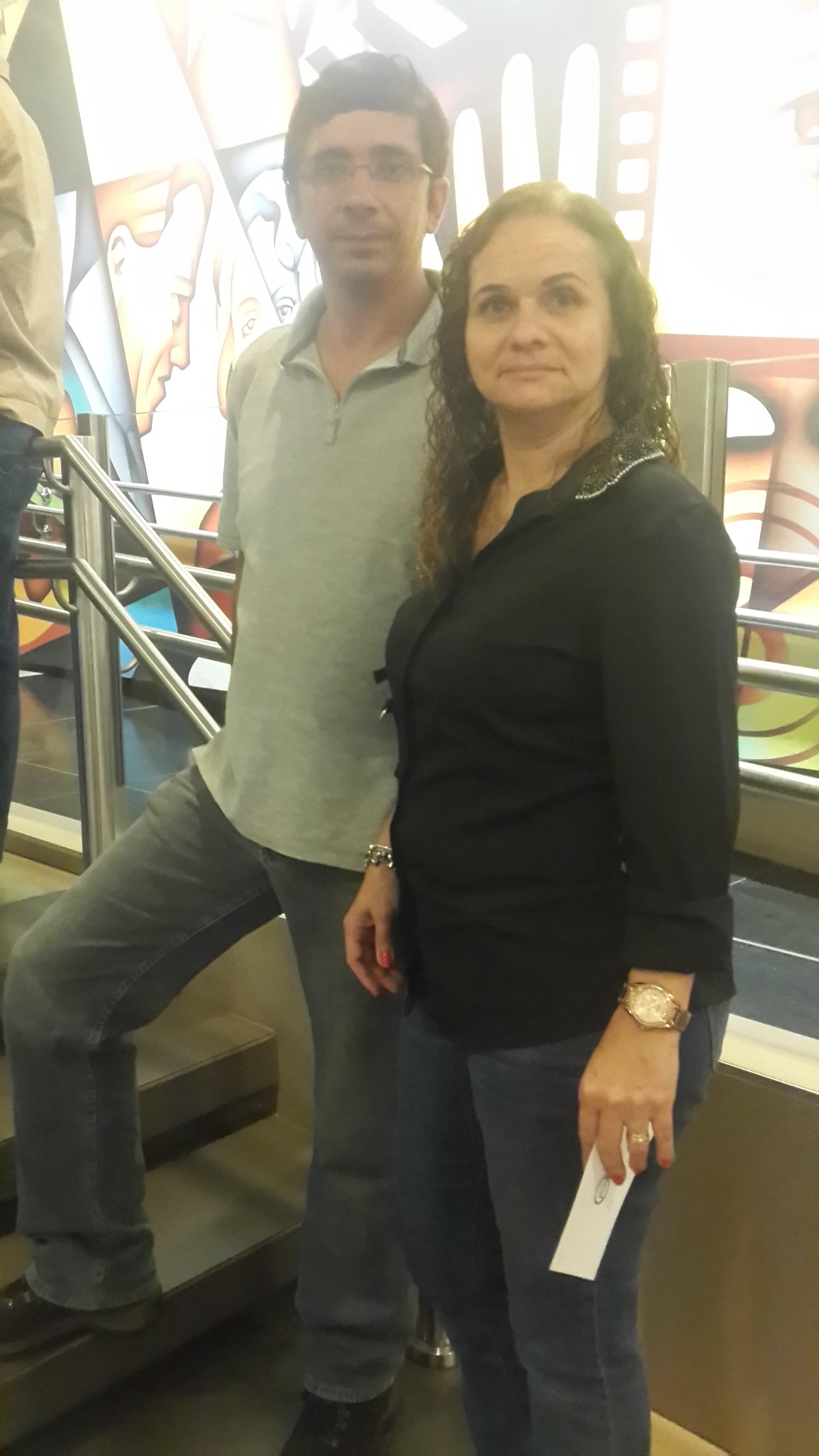 Marco Antônio e Elizabeth Monte