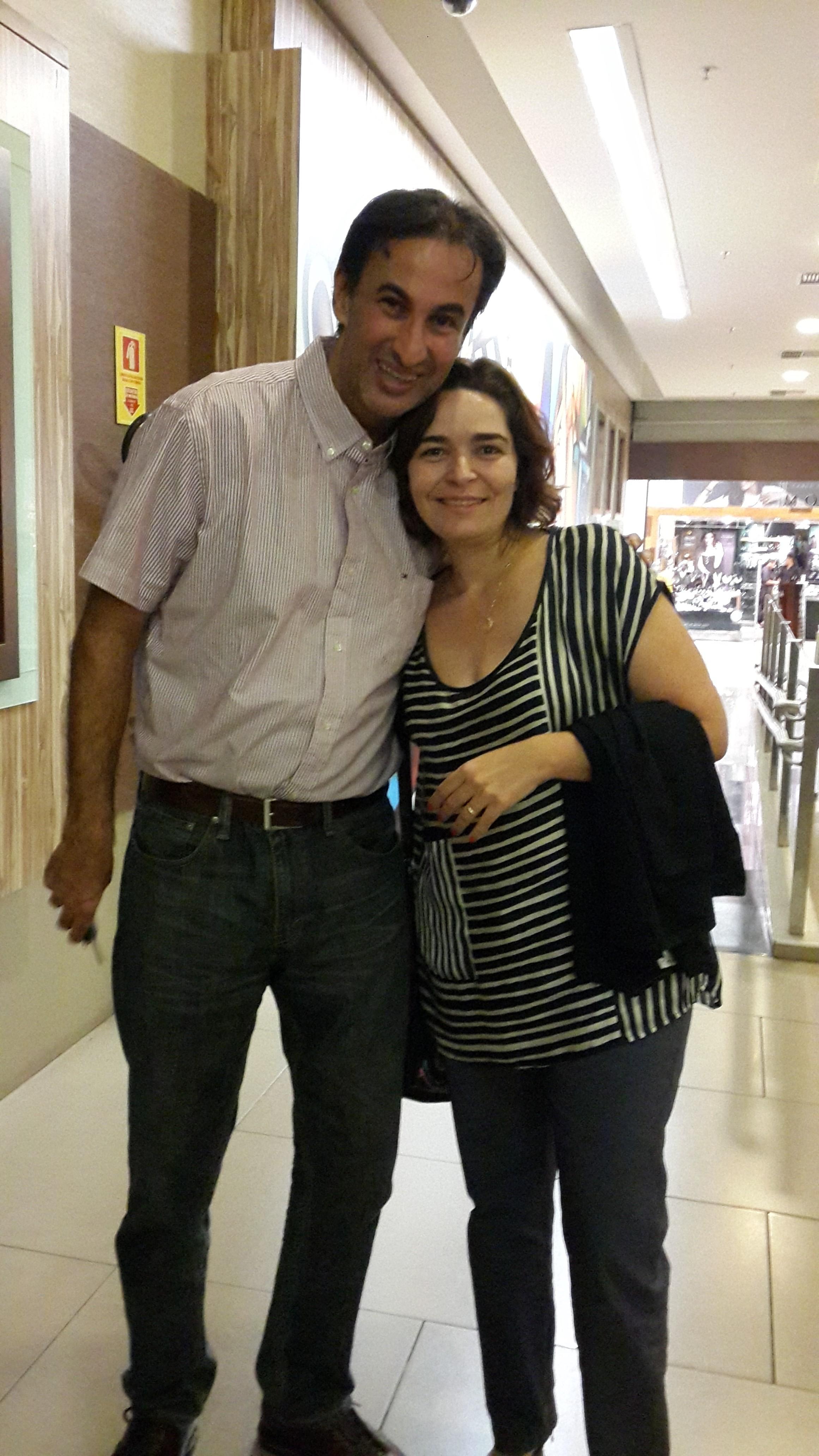 Luis Gustavo de Castro e Ana Carvalho
