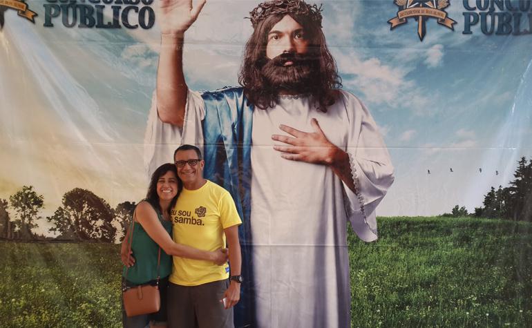 Fernando Araujo e Ester Antonia