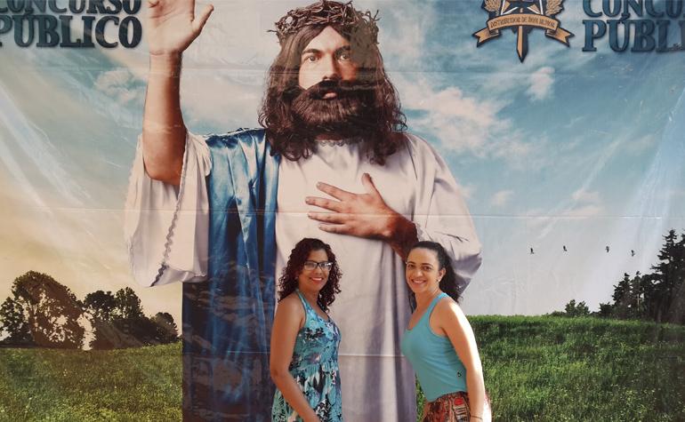 Shirlei Santos e Luciana Mariano