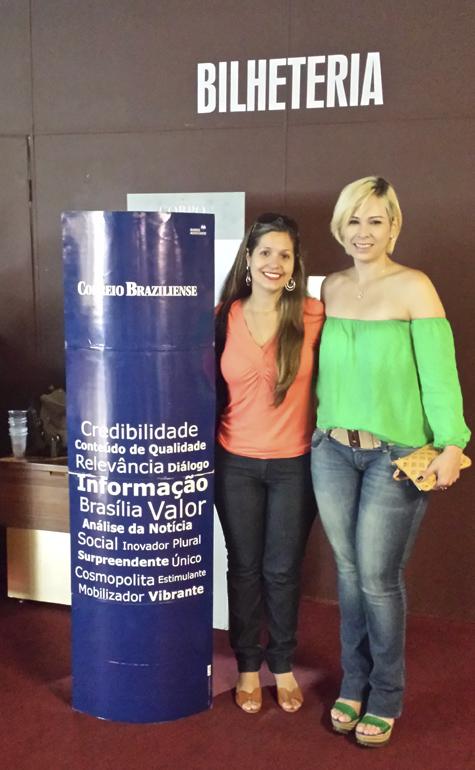 Elen Carolina da S. Guimarães e Juliana Ramos