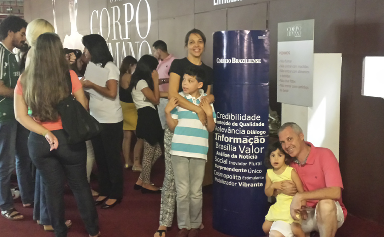 Vania Izidio B. e Silva, Marcelo Castro, Matheus e Maria Luisa