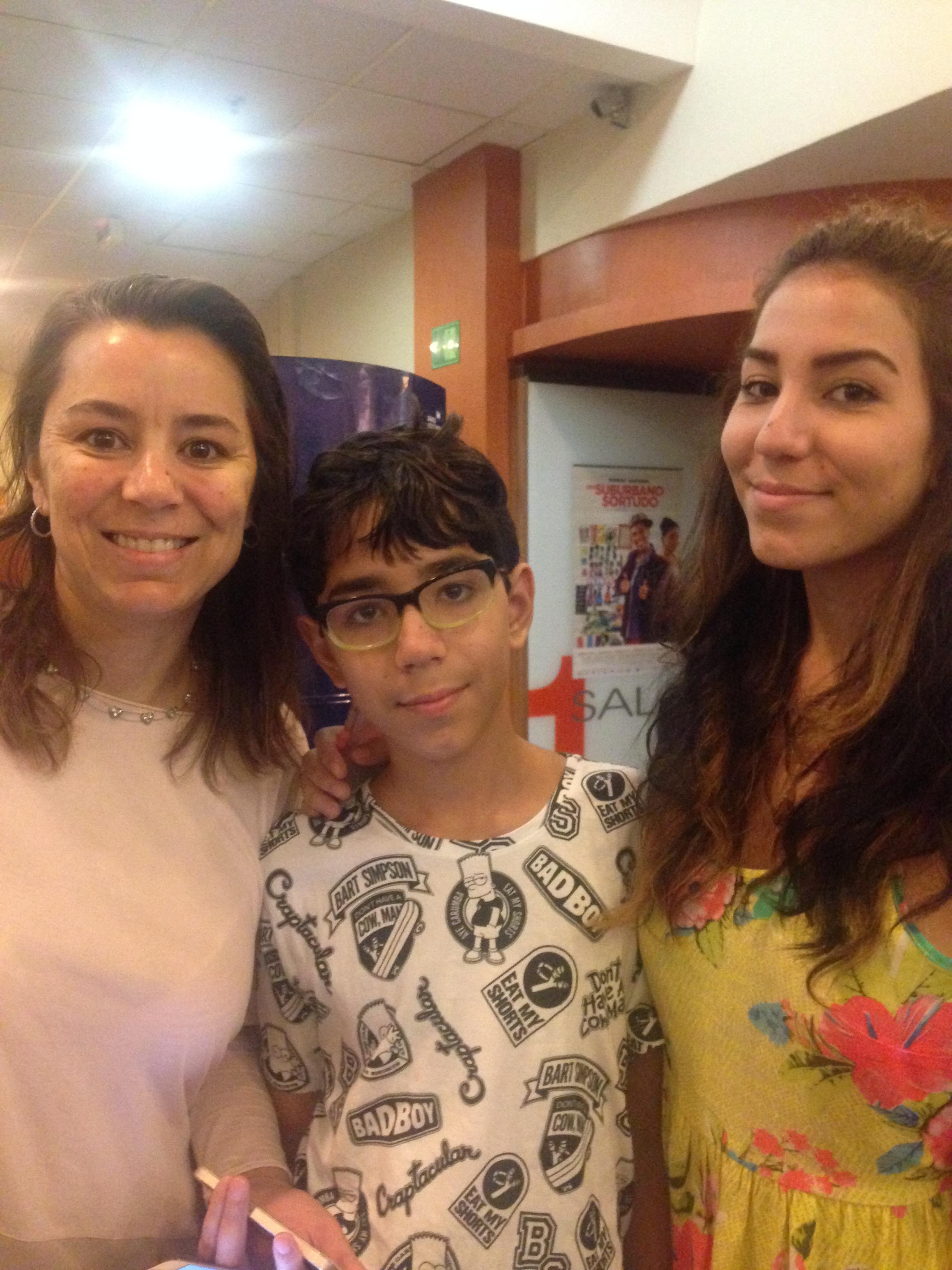 Ana Paula Coelho Coleto Lettieri e filhos