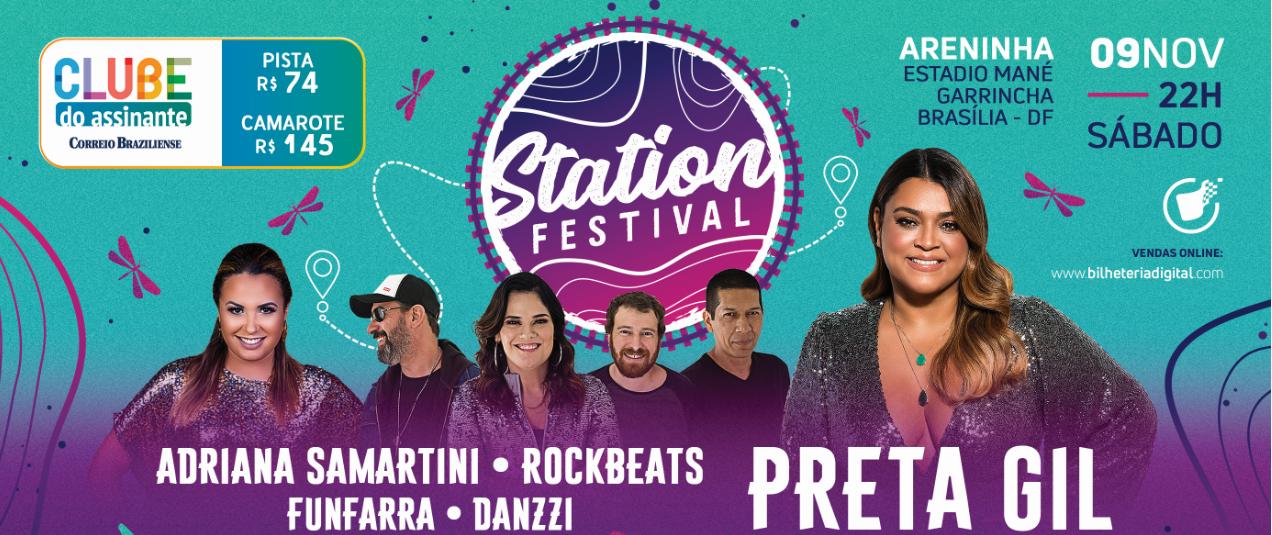 STATION FESTIVAL COM PRETA GIL   09.11