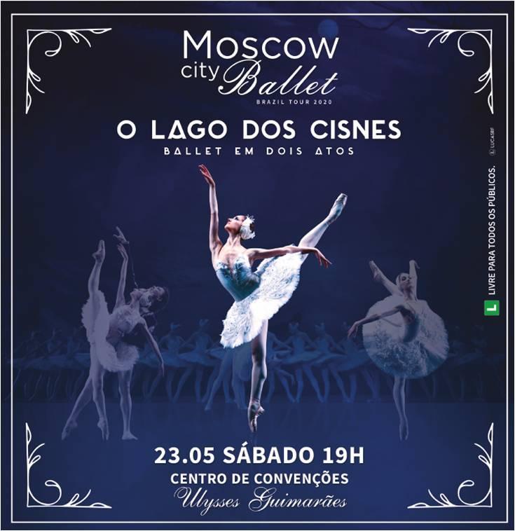 MOSCOW CITY BALLET   LAGO DOS CISNES   23.05