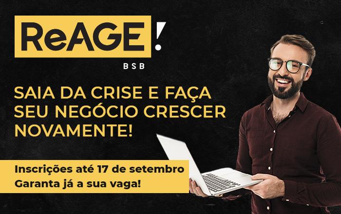 REAGE BRASÍLIA | CURSO ONLINE