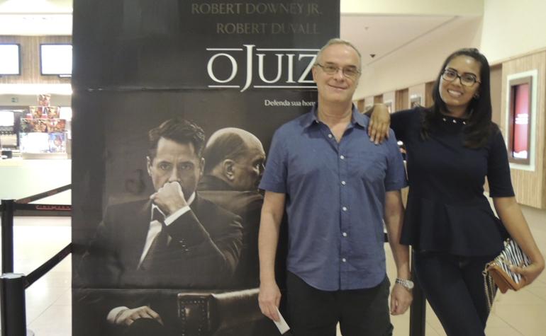 Marcelo Miquel Fremder e Marina Castro