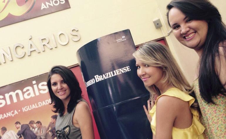 Bruna Araújo, Jessica Larissa Gonçalvez e Marcia Valeria