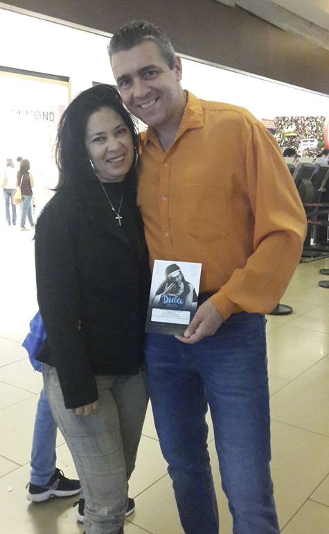Luiz Fernando e Cilene Ribeiro