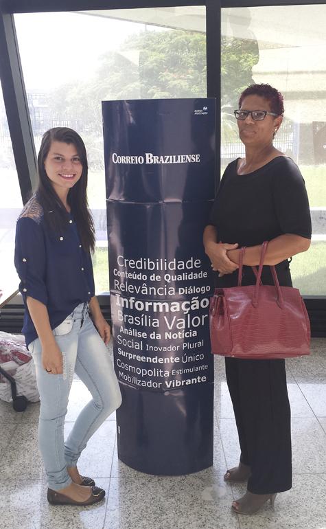 Luzia M dos Santos Oliveira e Mirlly Aparecida