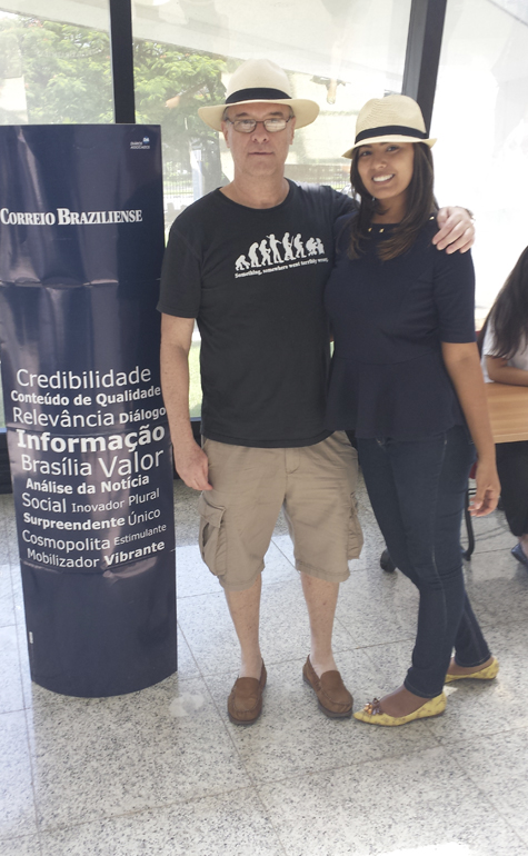 Marcelo Miguel Fender e Marina Castro