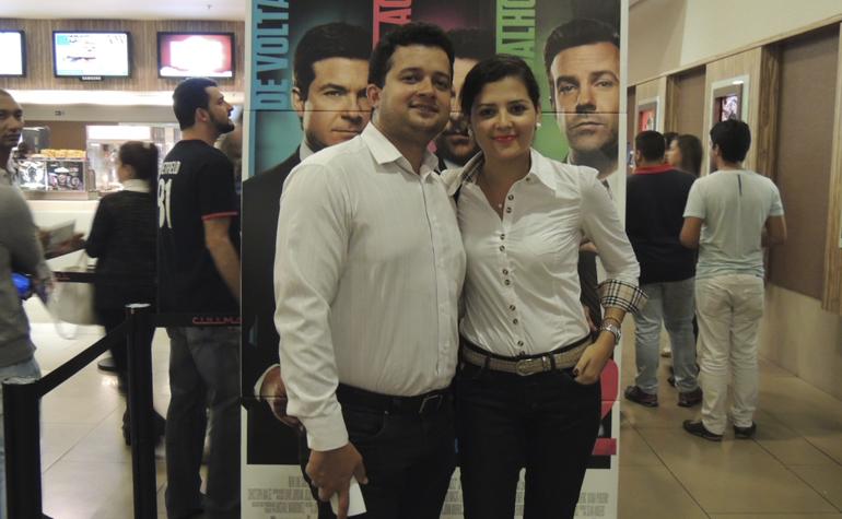 Bruno Fagundes e Marta de Almeida