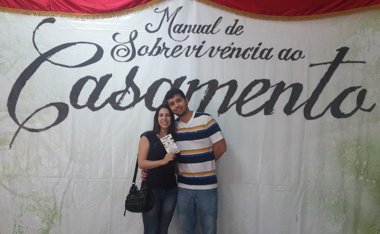 Bruna Rodrigues e Hugo Vasconcelos.