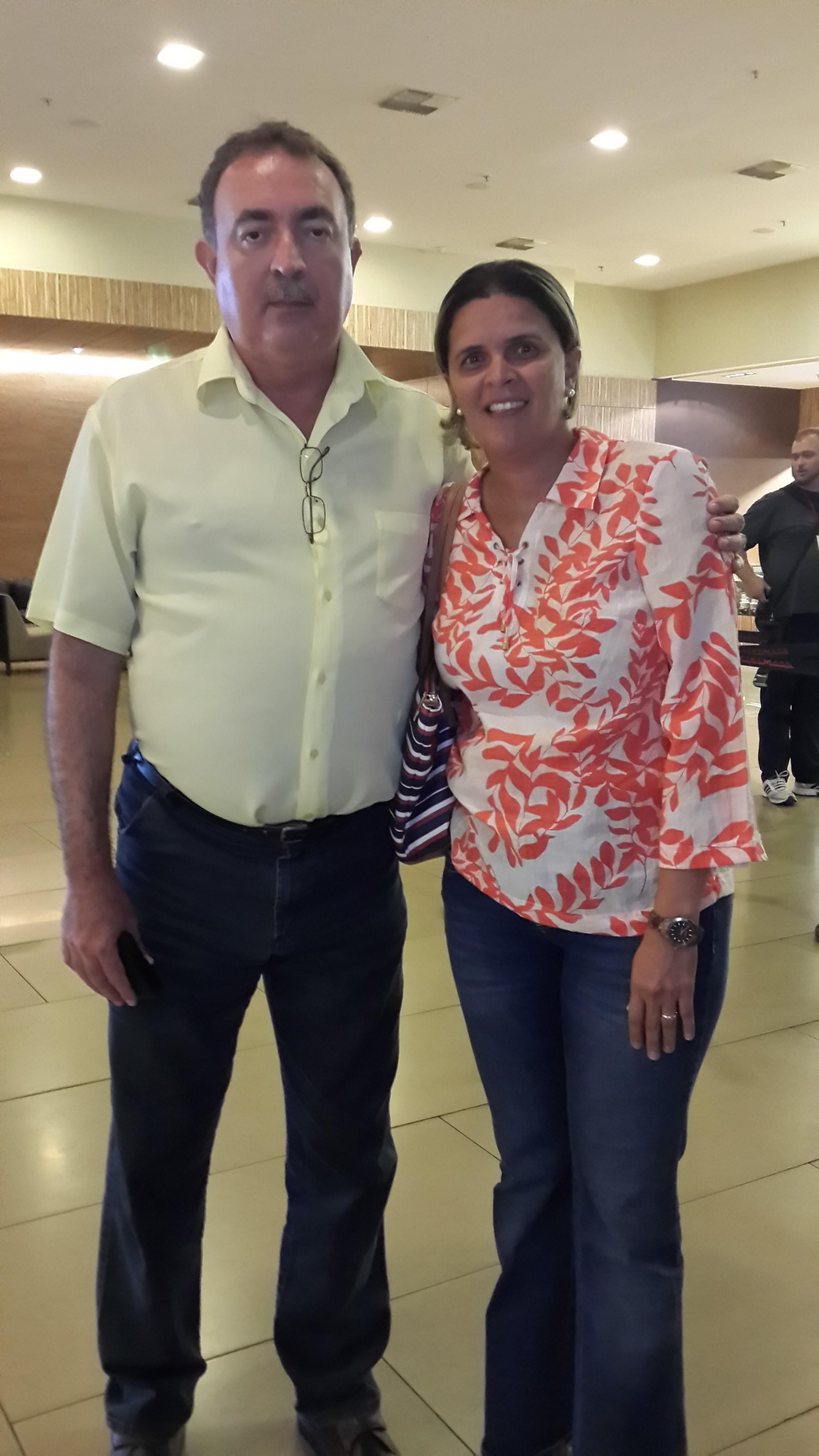 Alfredo Moreira e Nilmara Pires