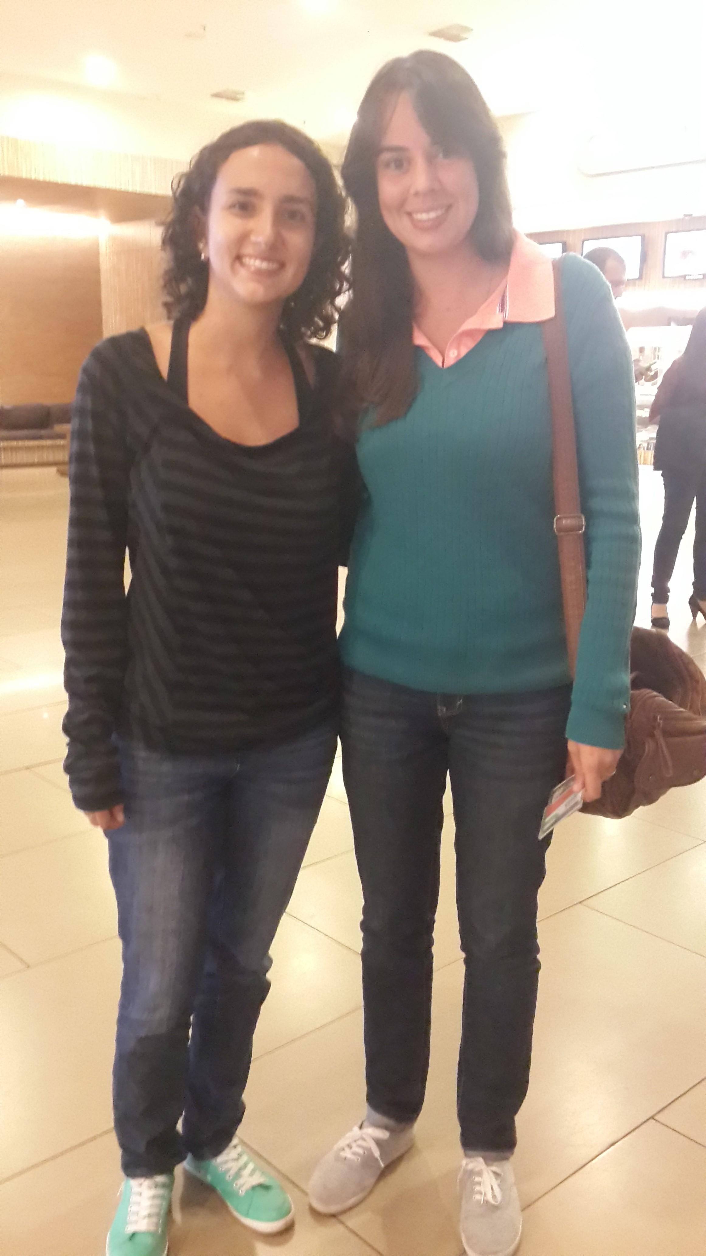 Ana Luiza e Cristina Meneguin