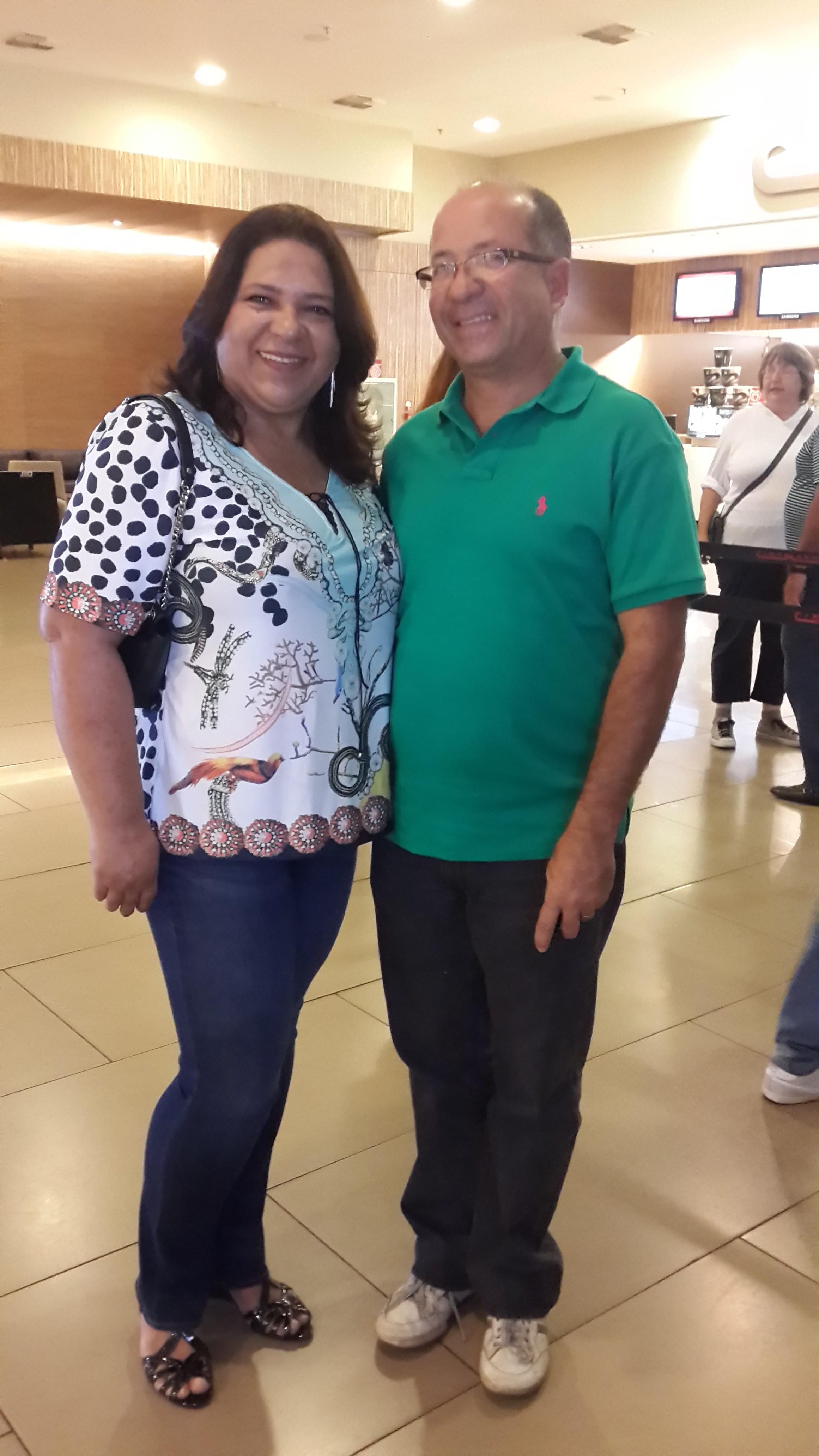 Edmilson Felix e Josineide Lopes