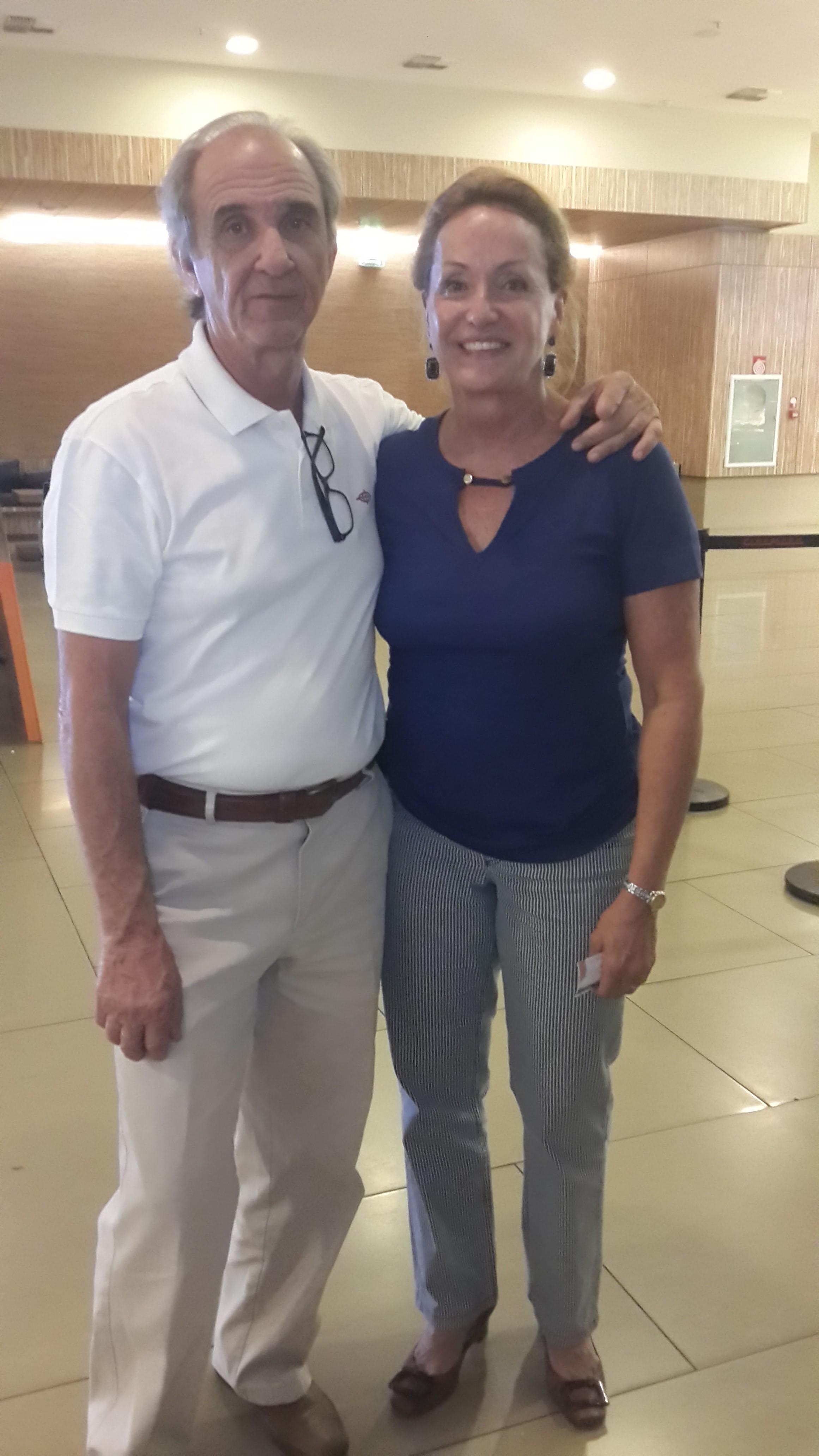Florismar Gomes Carrião e Dileiza Monteiro