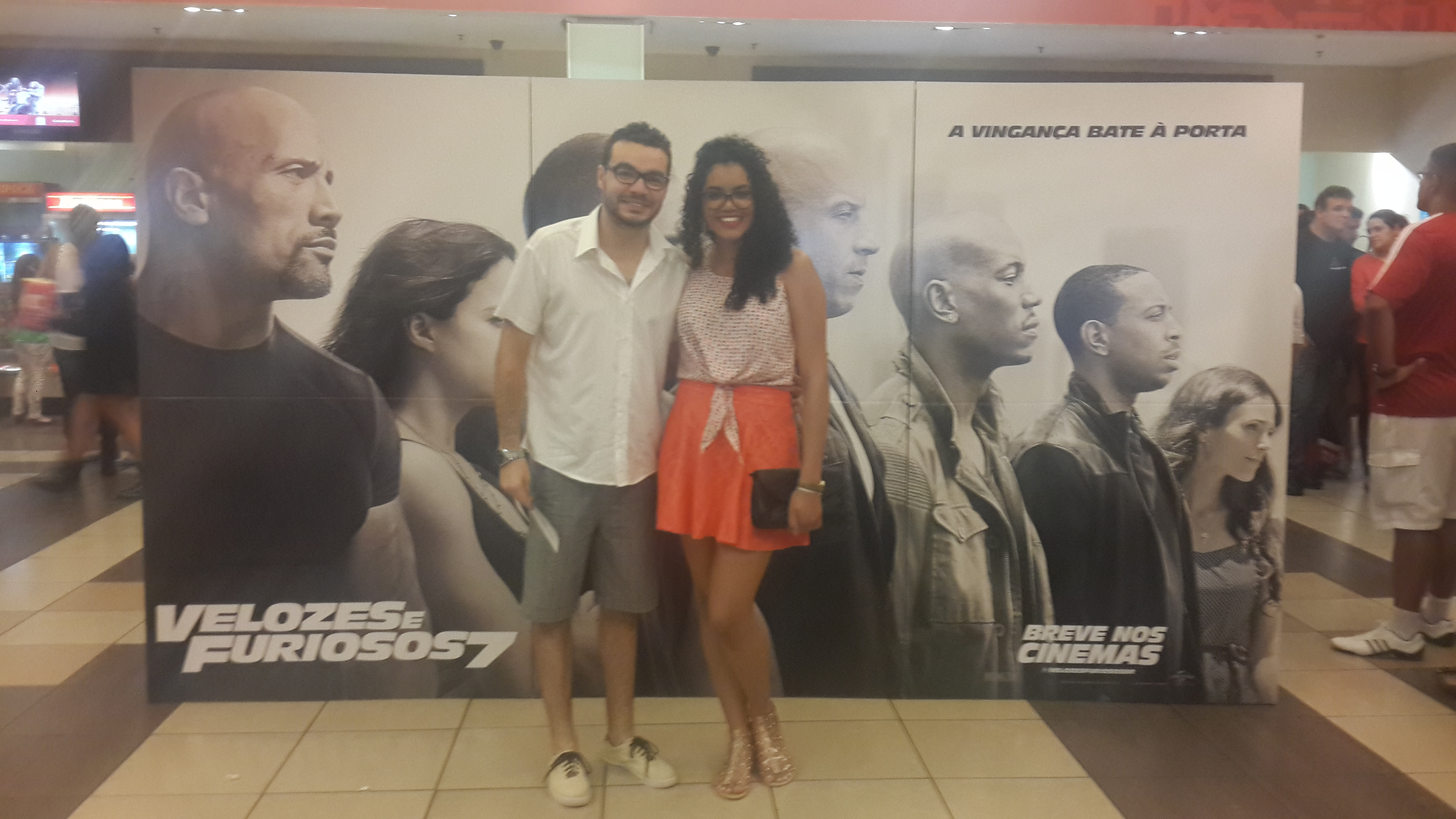 João Luiz e Larissa Vieira