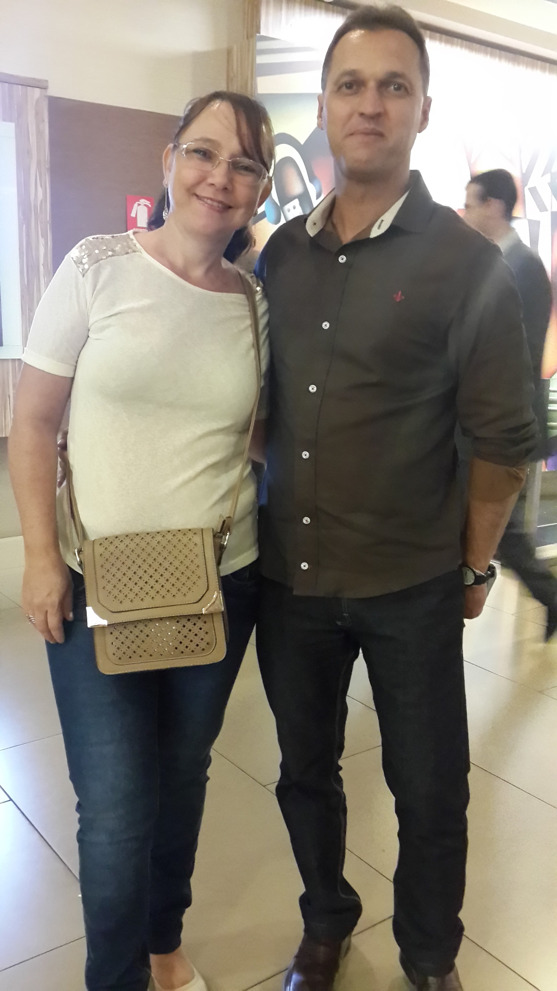 Helvio de Paula e Patricia Bianchini