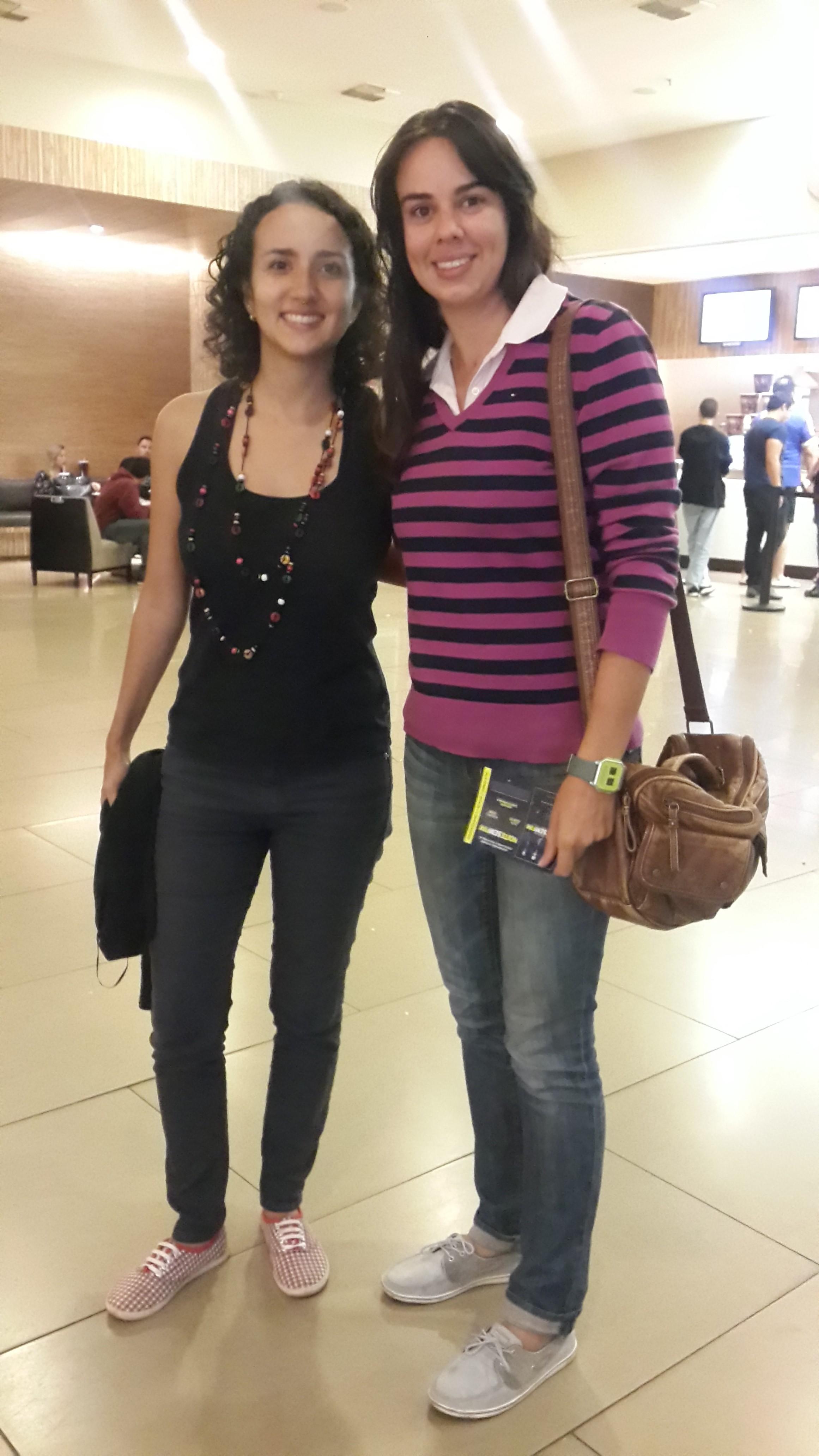 Ana Luiza Gabatteli e Cristina Meneguin