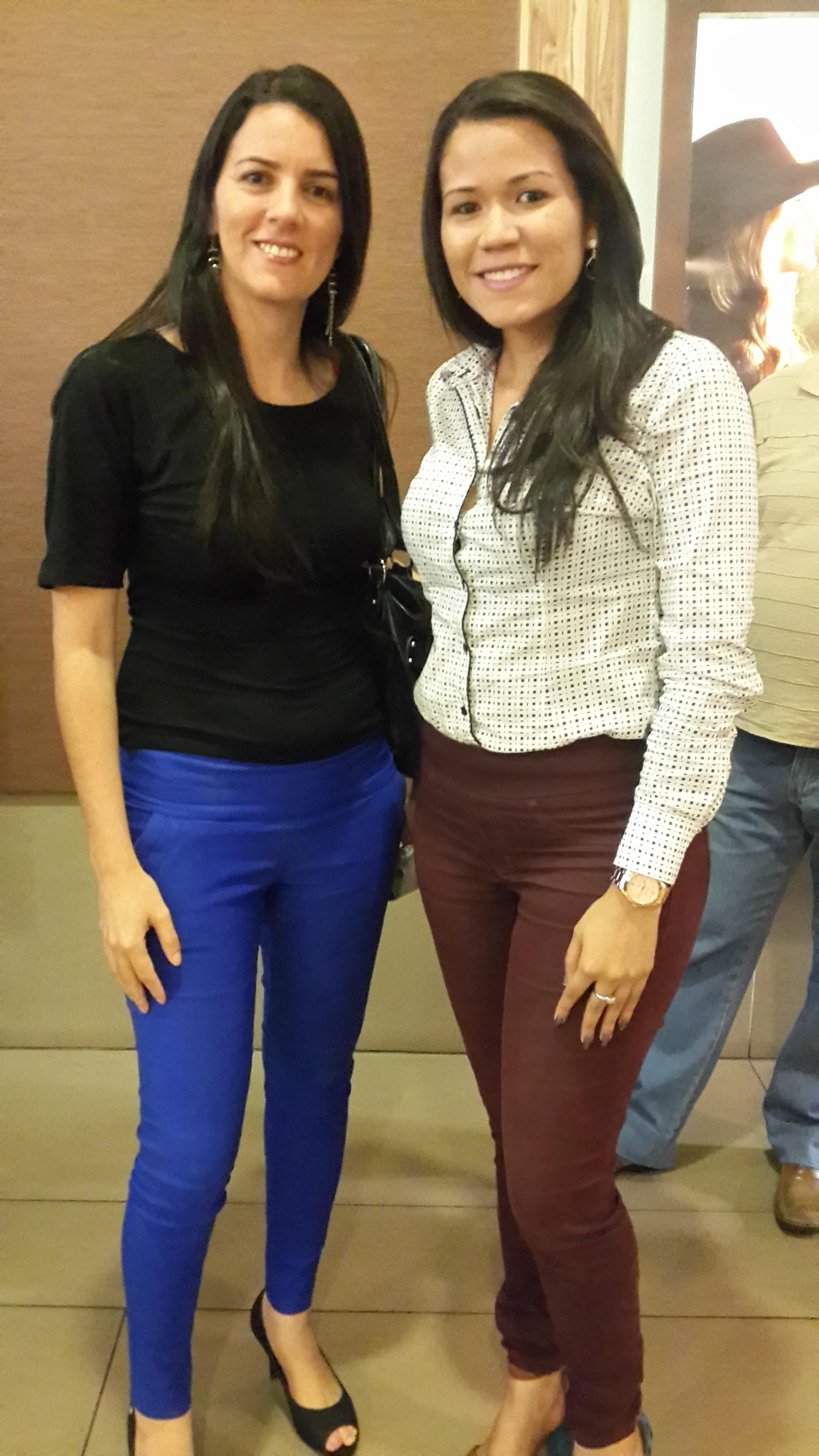 Raquel Alves e Kenia Silva Vieira