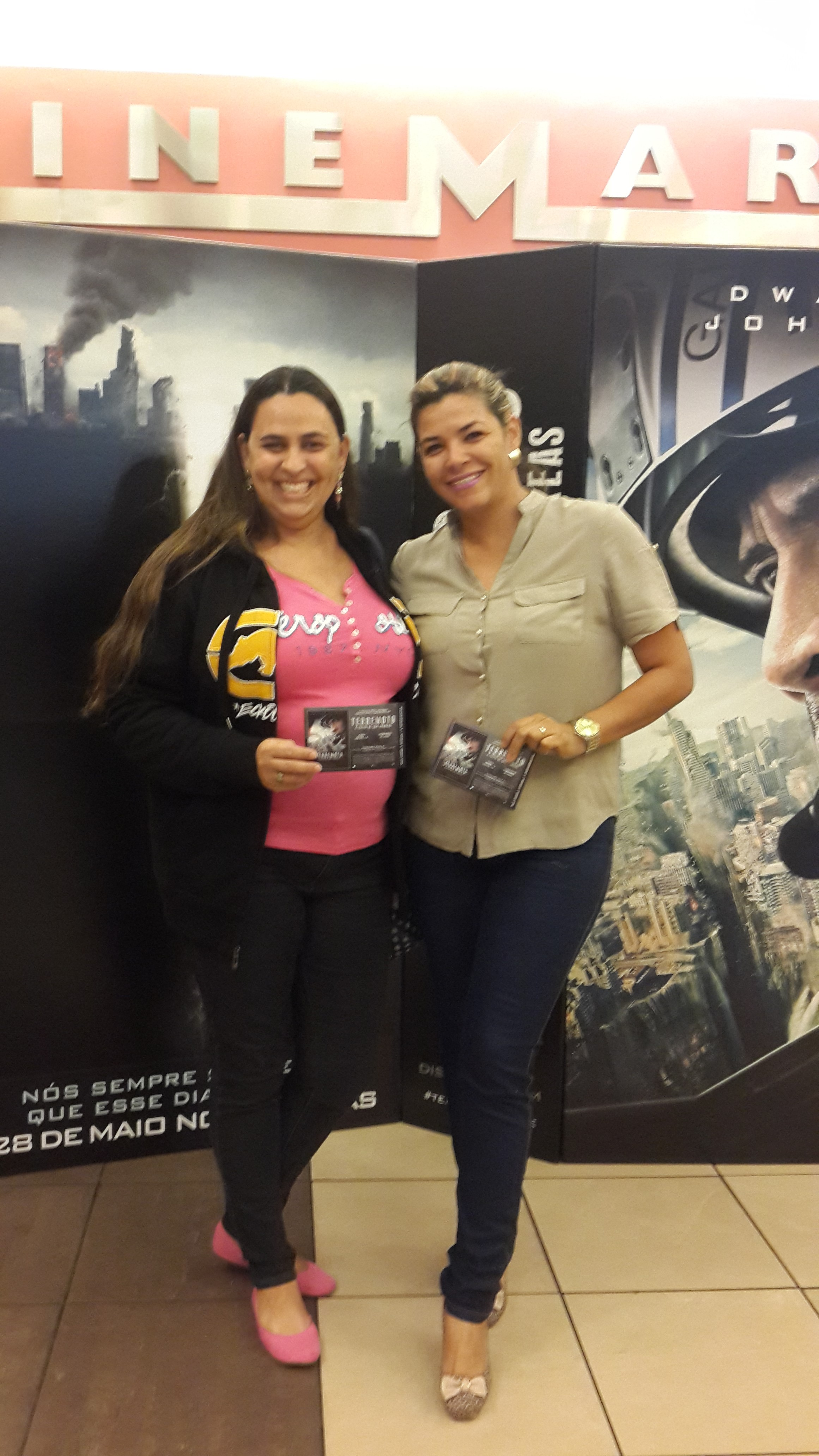 Angela Faria e Cristinne Almeida