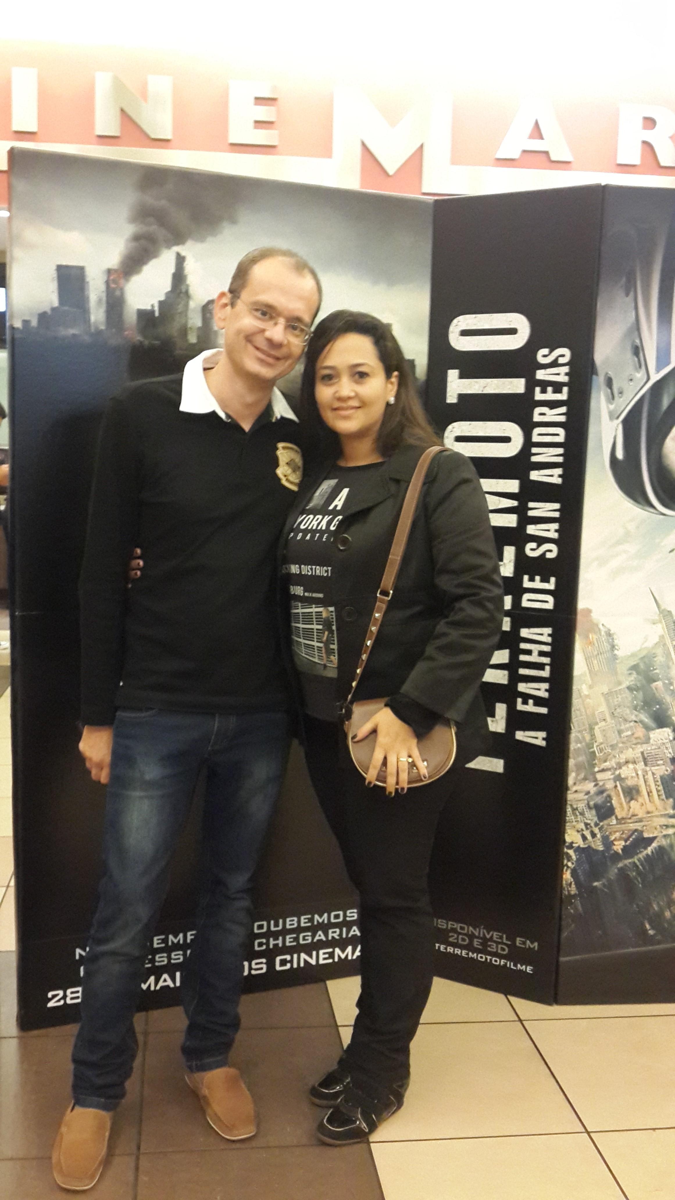 Daniel Moreira e Iris Ramos