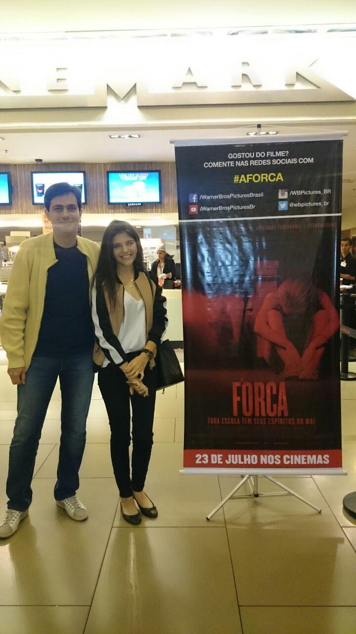 Márcio Rodrigues dos Santos e Maria Luiza dos Santos