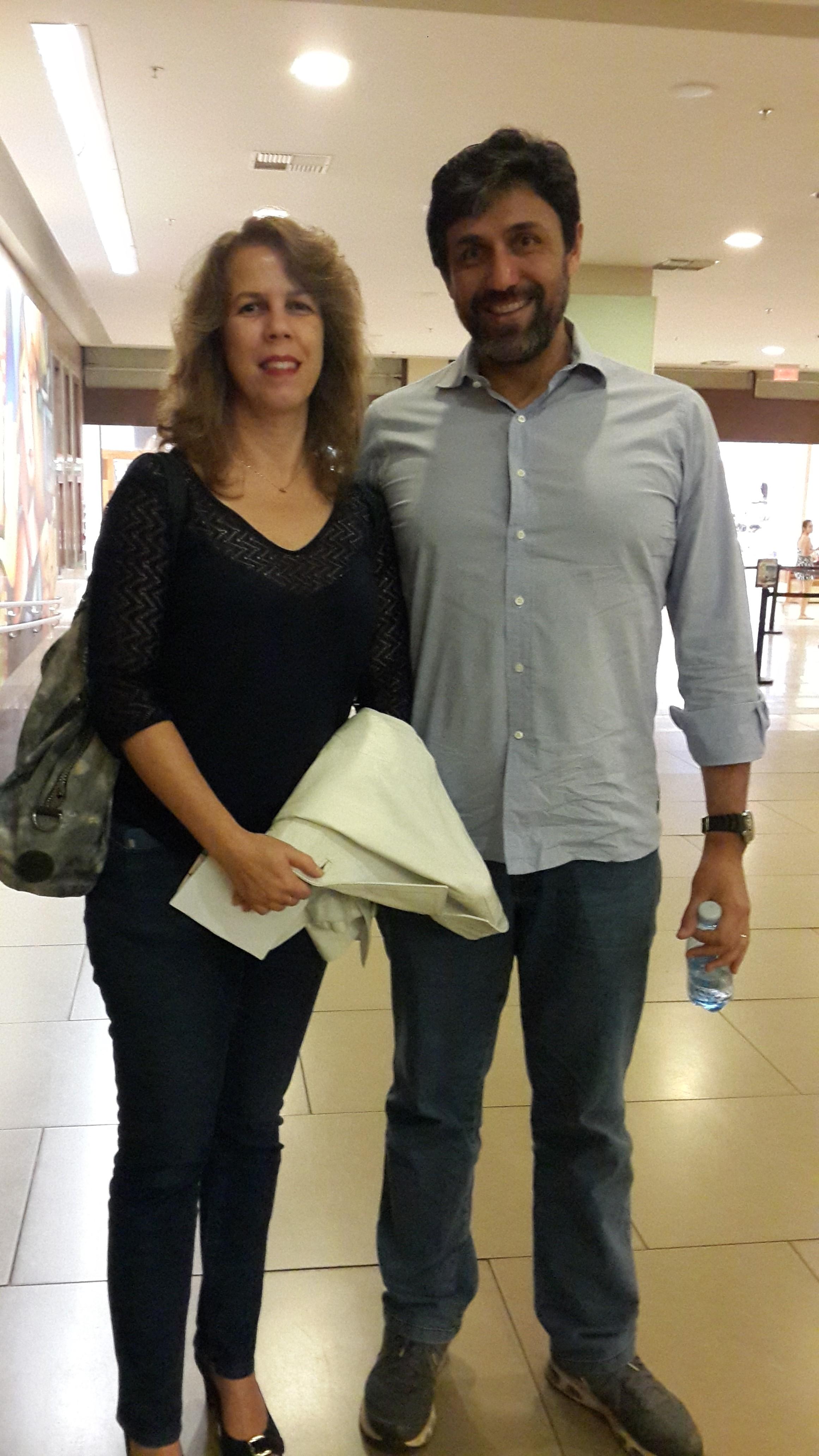 Daniele Moraes Pereira e Daniel Pereira