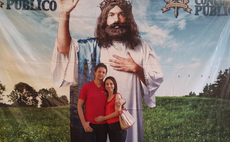 Carlos Eduardo e Maria de fatima