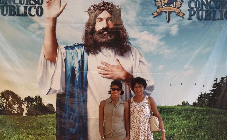 Rejane Bastos e Eliana Bastos