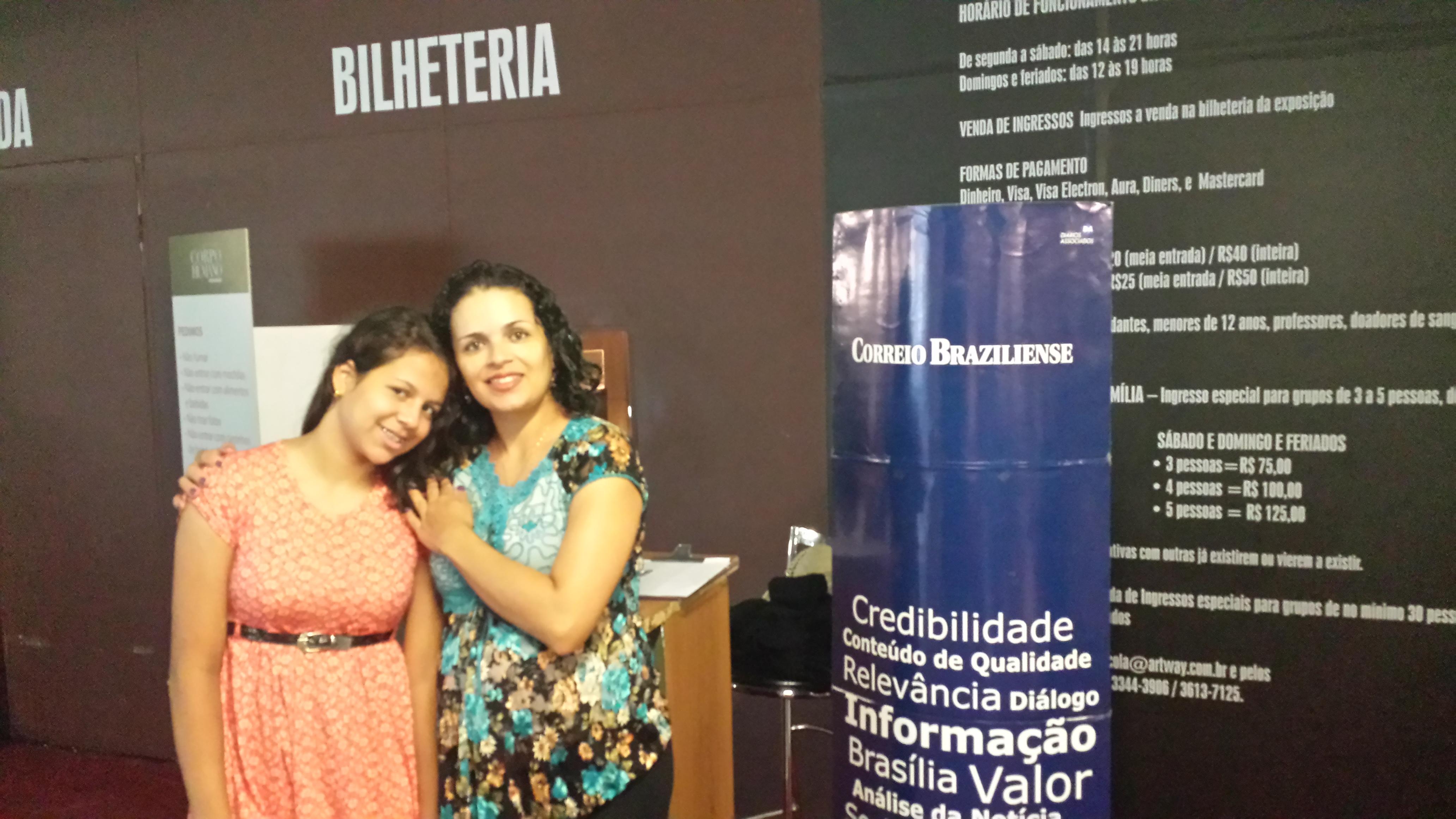 Lucimeire da Silva Morais Mota e Mariana Morais